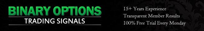 Binary Options Trading Signals Membership Account